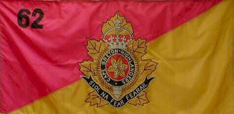 the Regimental Flag of the Cape Breton Highlanders